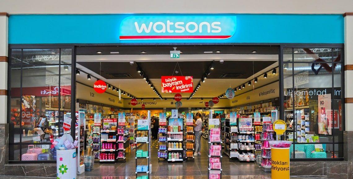 watsons mağazası