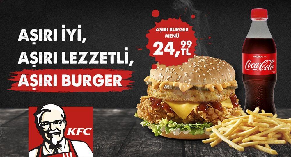 Aşırı Burger Menü
