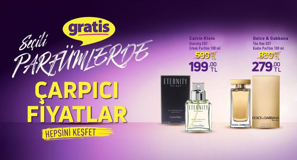 Seçili Parfümlerde Çarpıcı Fiyatlar