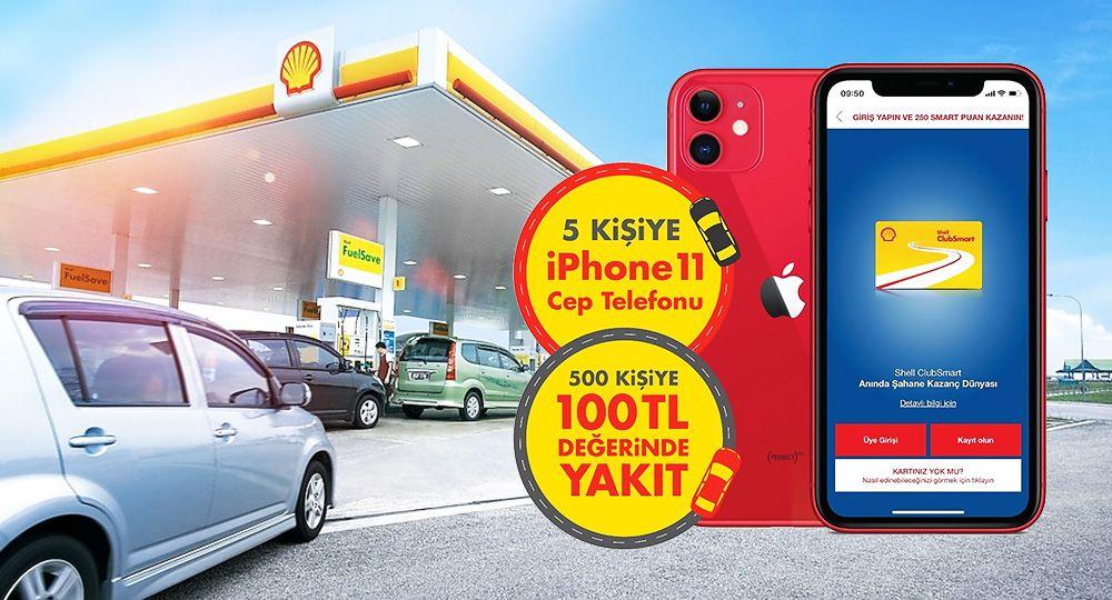 Shell Mobil Uygulaması Kazandırıyor
